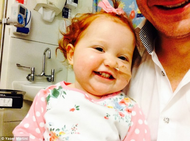 Save Margot: The family of 17-month-old Margot Martini, who was diagnosed with a very rare type of leukaemia last year, has started a campaign to find a donor match for her